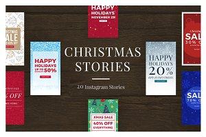 Christmas Instagram Stories V2
