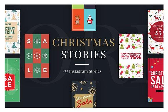 Christmas Instagram Stories V4
