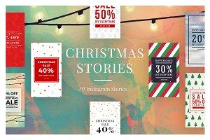 Christmas Instagram Stories V3