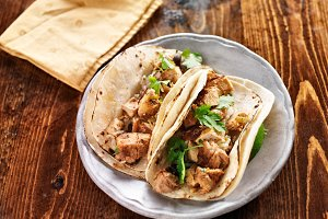 authentic mexican chicken tacos