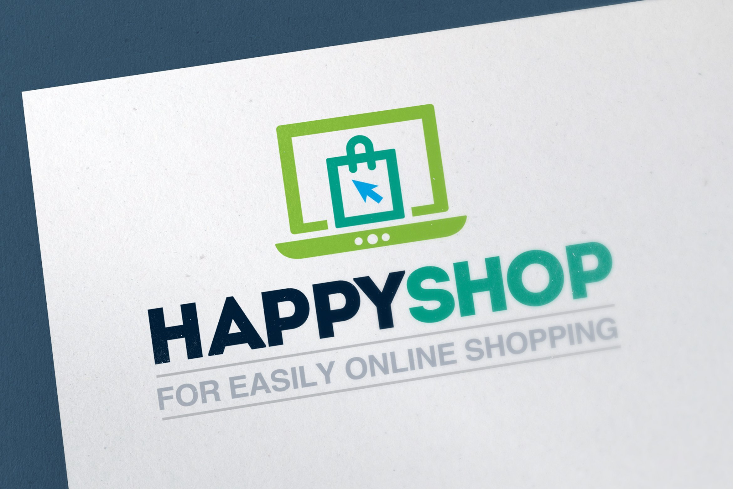 Online shopping logo template logo templates creative for Design online shop
