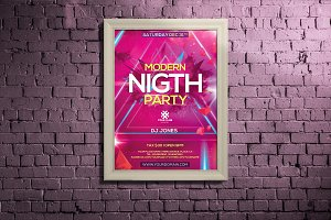 Night Club Party Poster / Flyer