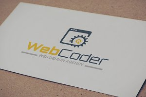 Web Design Development Logo Template