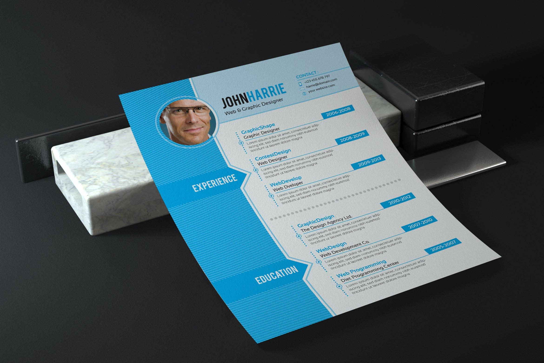 InDesign Resume Template Resume Templates Creative Market