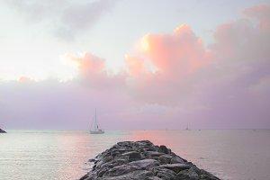 Cotton Candy Cloud Sunset