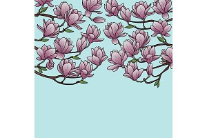 Magnolia Spring Composition
