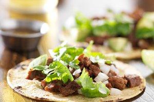 barbacoa beef taco