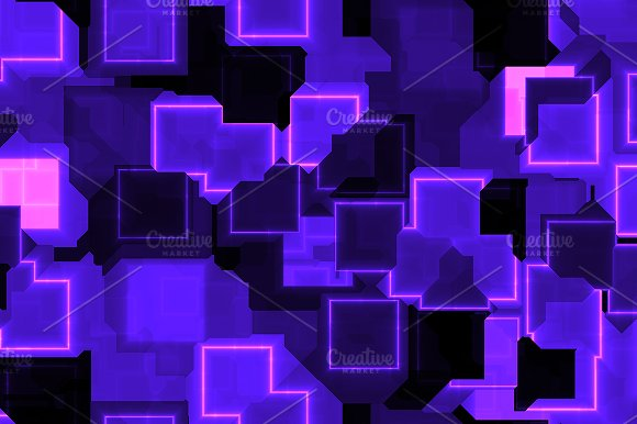 20 Cyber Square Lights Backgrounds in Textures - product preview 1