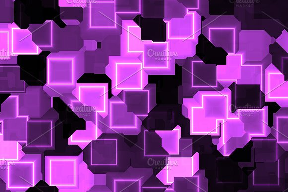 20 Cyber Square Lights Backgrounds in Textures - product preview 2