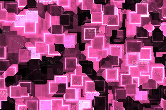 20 Cyber Square Lights Backgrounds in Textures - product preview 10