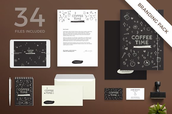 Branding Pack Coffee Time