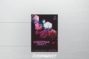 Christmas Party 2017 Flyer Template