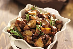 rosemary herb potatoes