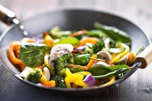 veggie wok stir fry