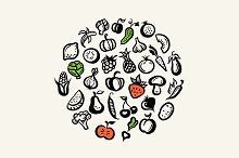 Fruits And Vegetables Composition