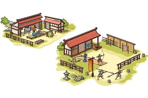 Japanese Samurai Training Camp