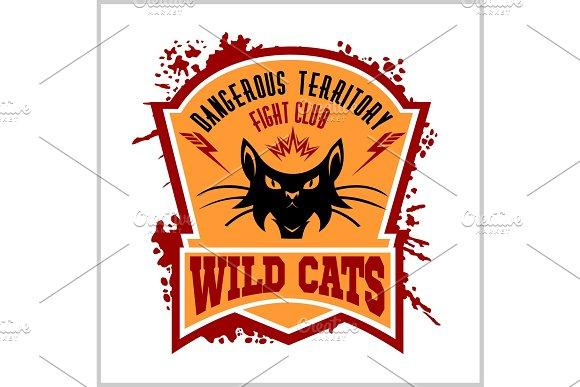 Wildcat mascot - sport team.