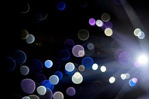 Abstract background fiber optics