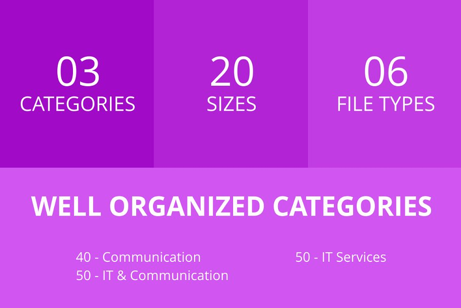 140 IT & Communication Line Icons in Icons - product preview 2