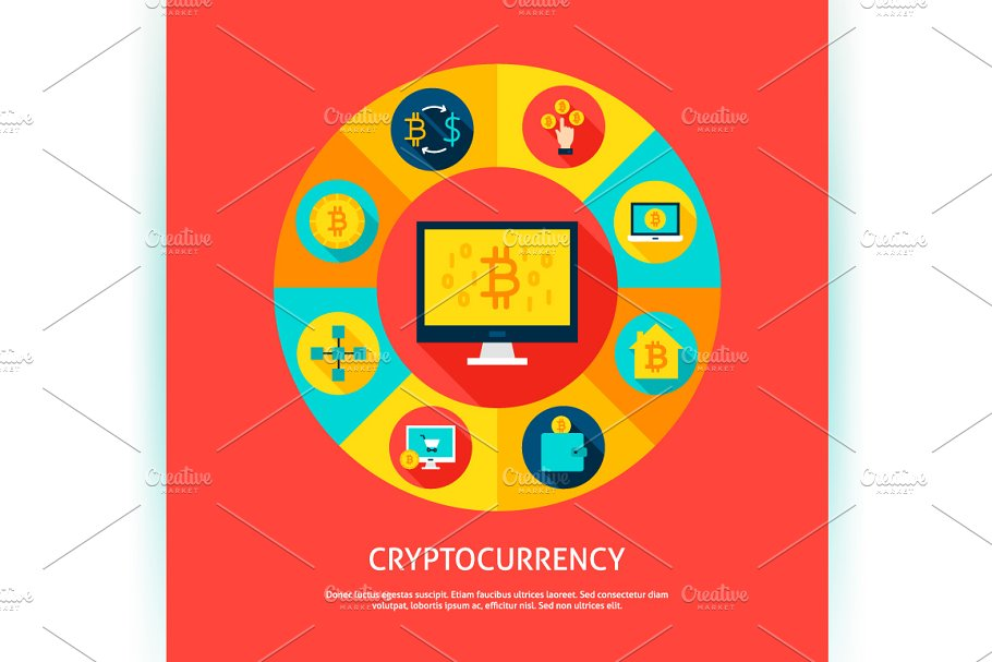 Bitcoin Vector Concepts in Illustrations - product preview 4