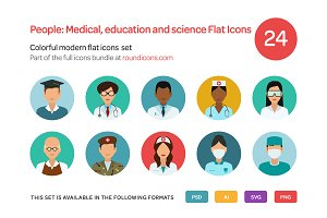 People: Medical, Education and Scien