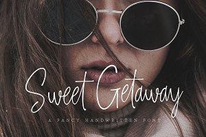 Sweet Getaway - Casual Handwritten