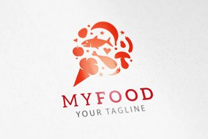 My Food Logo and app icon