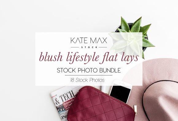 Blush Lifestyle Stock Photo Bundle