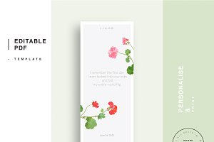 Wedding editable PDF template