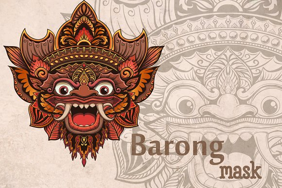 Bali mask Barong