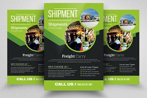 Freight Shippment Flyer