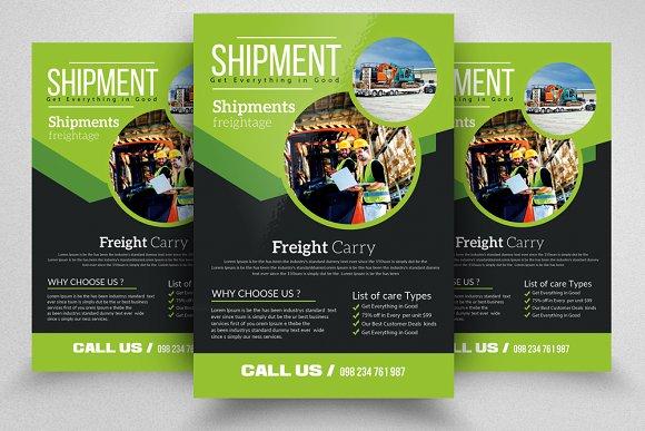 Freight Shippment Flyer