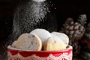 cookies with corn flour
