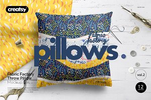 Fabric Factory vol.2: Pillow Mockup