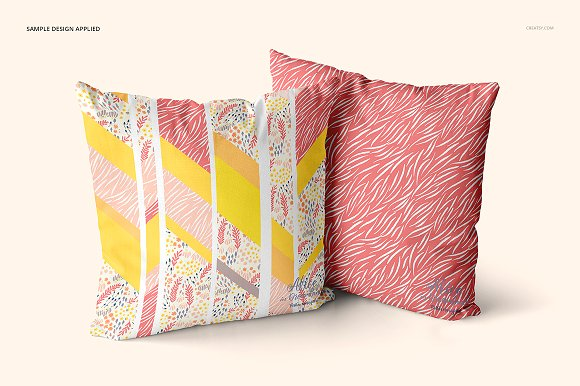 Fabric Factory vol.2: Pillow Mockup in Product Mockups - product preview 10