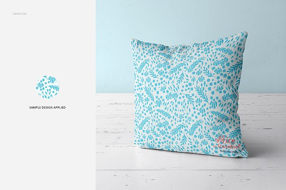 Fabric Factory vol.2: Pillow Mockup in Product Mockups - product preview 15