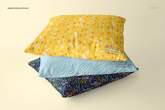 Fabric Factory vol.2: Pillow Mockup in Product Mockups - product preview 16