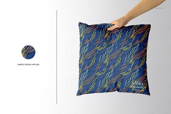 Fabric Factory vol.2: Pillow Mockup in Product Mockups - product preview 17