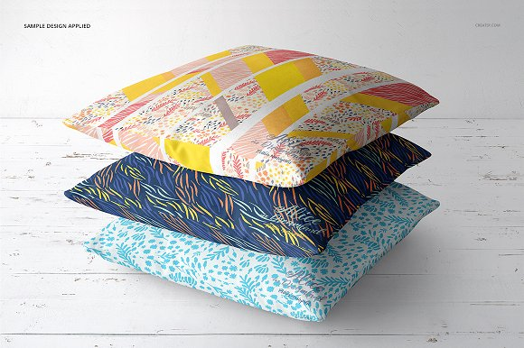 Fabric Factory vol.2: Pillow Mockup in Product Mockups - product preview 18