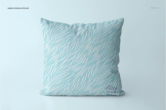 Fabric Factory vol.2: Pillow Mockup in Product Mockups - product preview 19