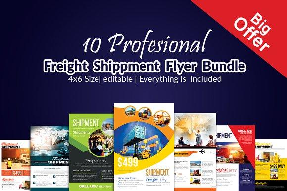 10 Freight Flyer Bundle Vol:01