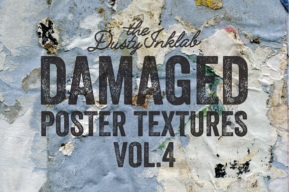Damaged Poster Textures Vol. 4