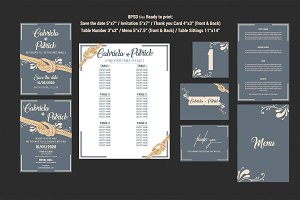 Wedding Invitation Suit 2
