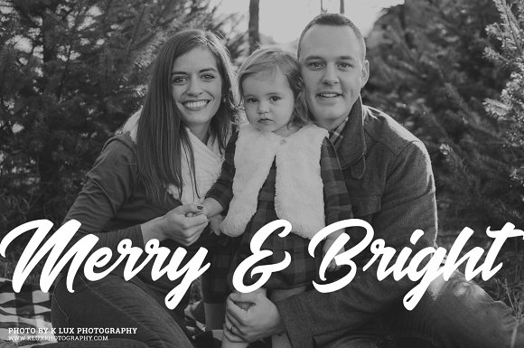 Gold Foil Christmas Photo Overlays in Illustrations - product preview 3