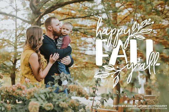 Autumn Photography Overlays in Illustrations - product preview 2