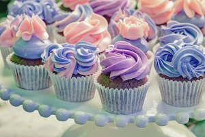 cupcakes, creative filter affect
