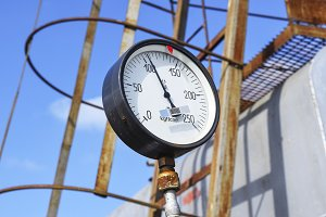 The manometer is the device for measurement of pressure. Manomet