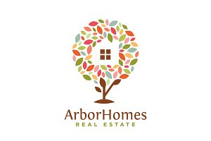 Arbor Homes Real Estate Logo