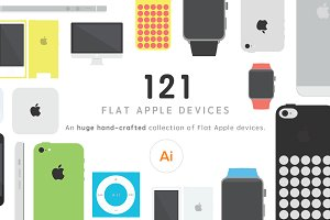 121 Flat Apple devices