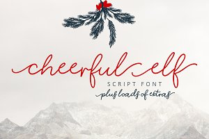 Cheerful Elf Script Font